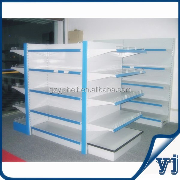 Supermarket store display racks for grocery store equipment used