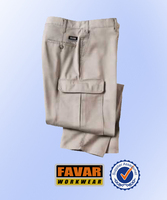 men's 100% cotton pants classic design pants