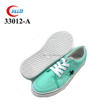 2015 fashion thick sole green espadrille canvas shoes