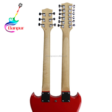 Danpur Datang hot sale beautiful electric guitar sg double