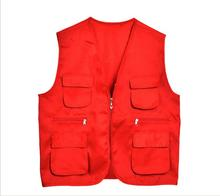 outdoor fishing demonstration custom functional vest