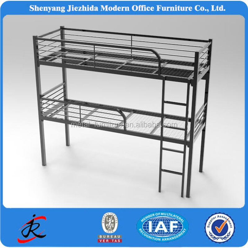 Student furniture Full Metal bunk bed/double bed design furniture