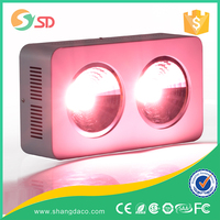 2015 High Intensity Smart Remote Controlled Dimmable COB 400W LED Grow Light Full Spectrum