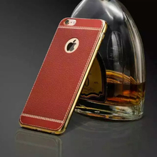 Electroplating TPU mobile phone case For iPhone 5 Cover embossed phone cover