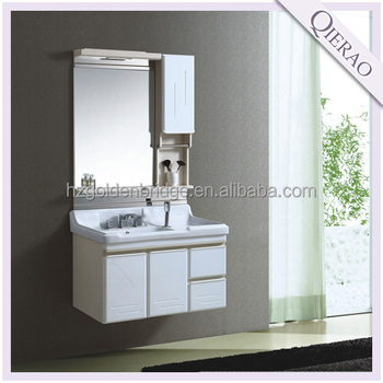 Hang/wall mounted PVC bathroom cabinet C-111