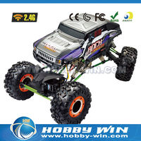 1:10 scale high speed racing car Climbing car led light bar off road
