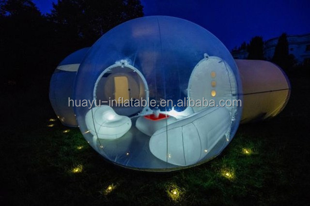 small rooms inflatable bubble tent