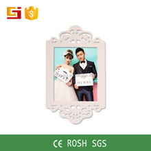 2016 new style white waterproof wedding photo frame