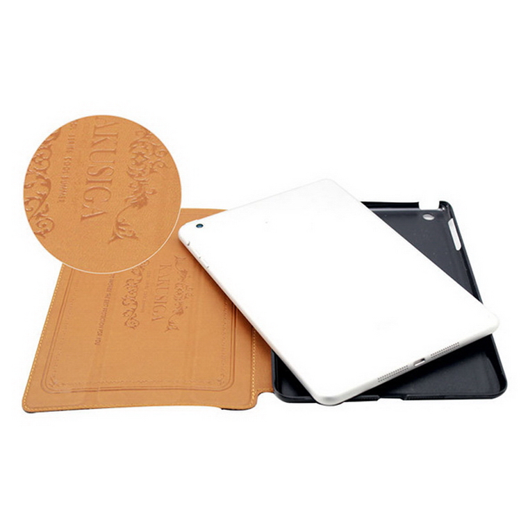 Special new coming leather cell phone case for ipad air