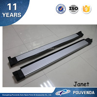 Aluminum AlloyRunning Board For Toyota RAV4 2013+ Side Step Original running board (silve) Auto Accessories From Pouvenda