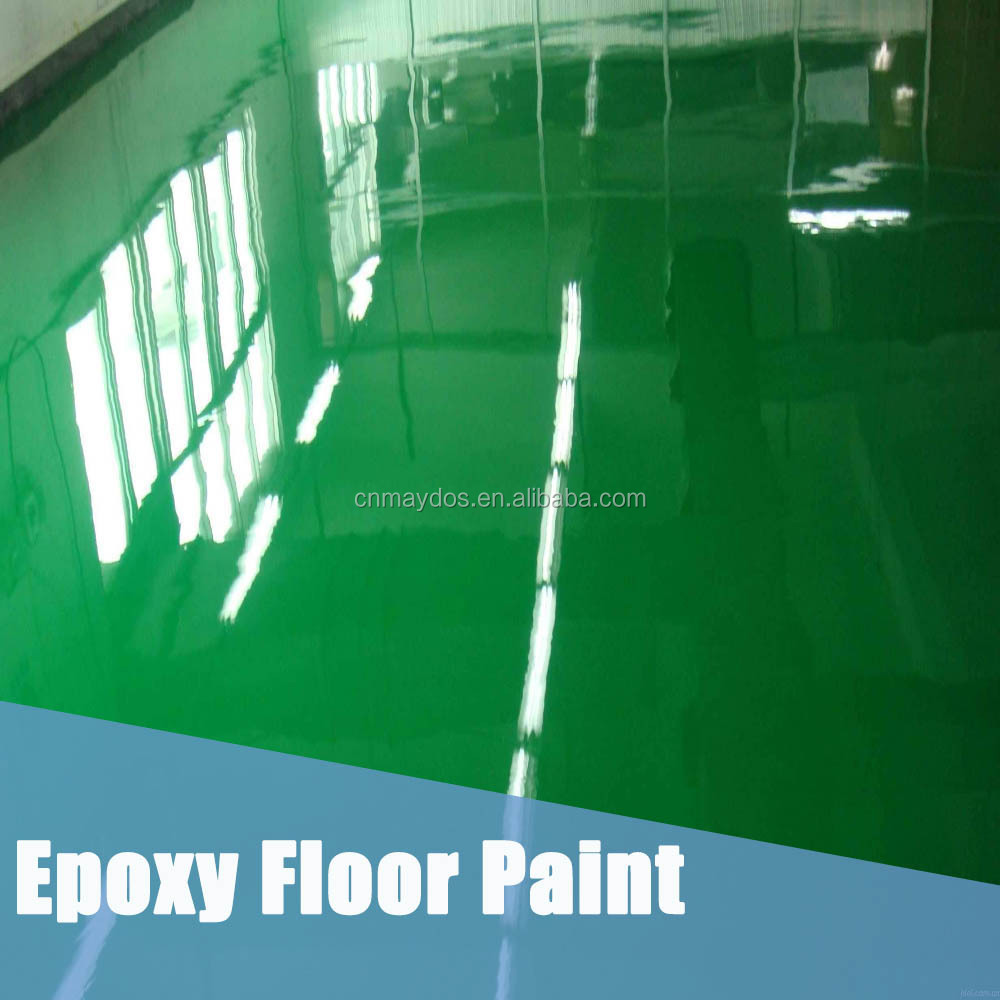 Maydos epoxy synthetic rubber floor paint for floor