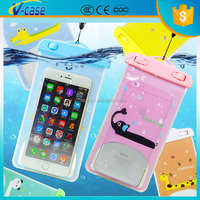 Muti color cartoon waterproof phone case for zte grand x z777 cricket