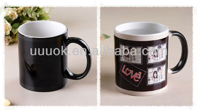 Sublimation magic mug