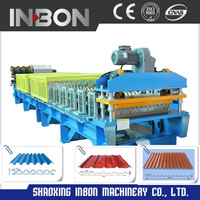 Best selling automatic metal cement roof tile making machine