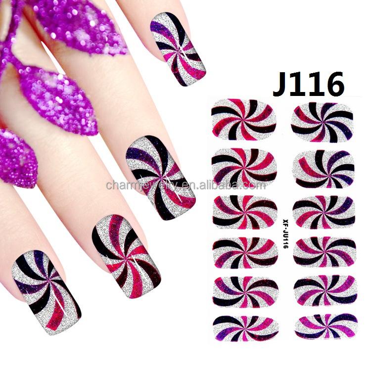 Wholesale Glitter Nail Art Sticker Online Buy Best Glitter Nail