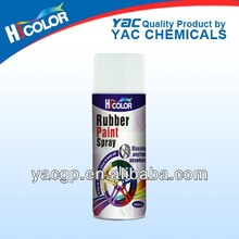 400ml rubber paint for cars peelable coating removable car spray paint