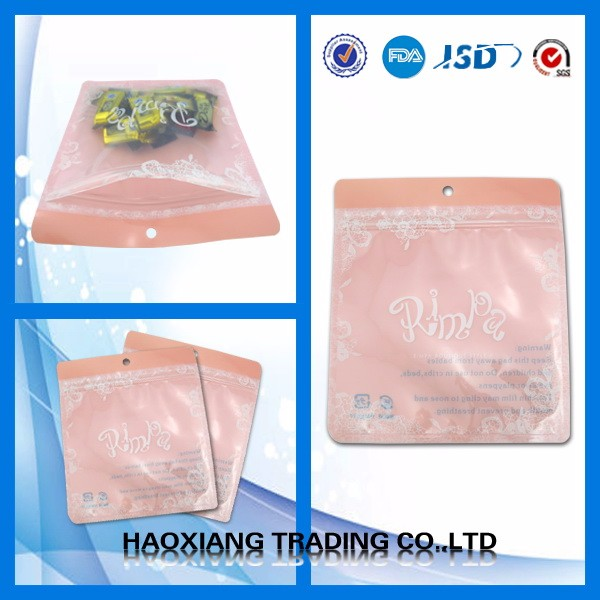 3 Sides Sealing Flat Bag,Vacuum Pack,Wet Food Packaging