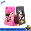 Cute mouse pattern cartoon character silicone phone cases for iphone 4 4s