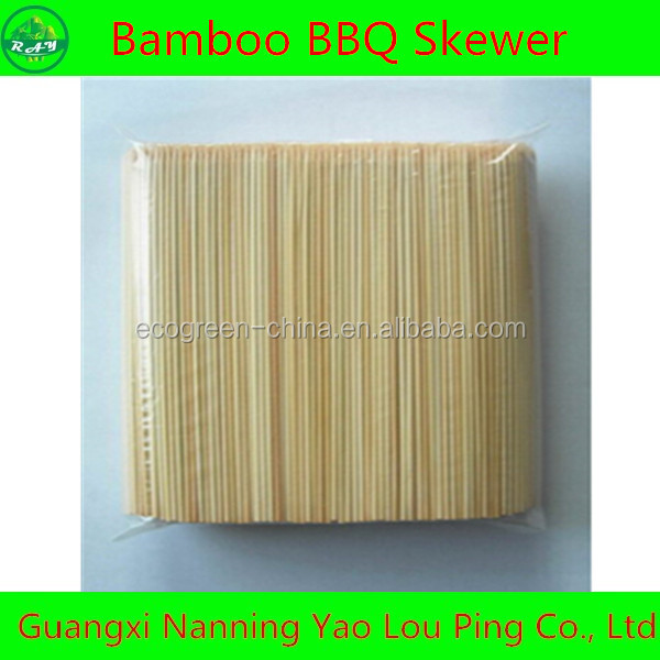 HOTTING competitive price manufacture BBQ bamboo skewer