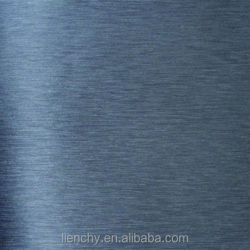 A135 Metallic Hairline Black Film VCM Laminated Steel Sheets