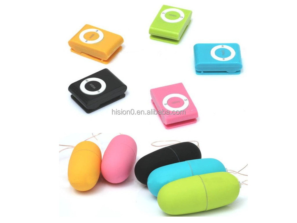 MP3 Wireless Remote Control Vibrating Egg for Women Fun Sex Toy Pleasure Adult Product Pictures