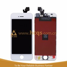 mobile cell for apple iphone 5 replica grass mirror LCD grass mirror screen assembly LCD Display+Touch Screen Digitizer Assembly
