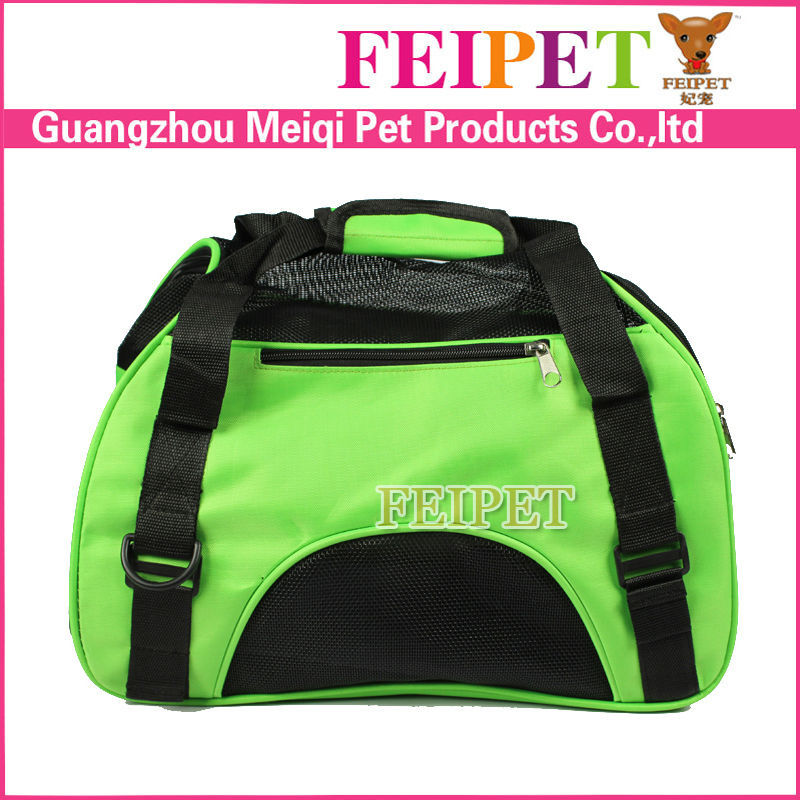 High Quality Outdoor Pet Carrier Soft Sided Foldable Dog Travel Bag