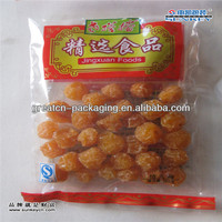 leakage protection plastic dried fruit package bag