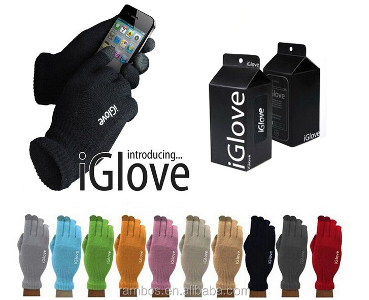 Winter Touch Screen Gloves iGlove with Retail Package Touch Screen Glove for iPhone 6S 6C