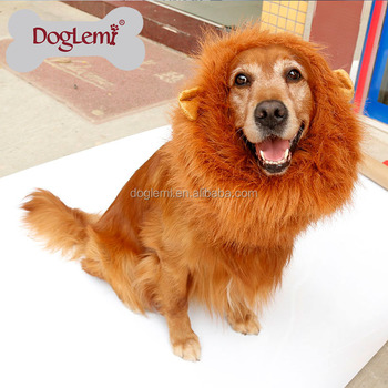 Mane Hair Party Festival Dog Wig Fancy Pet Dog Wig Lion Pet Dog Wig Dress Costume