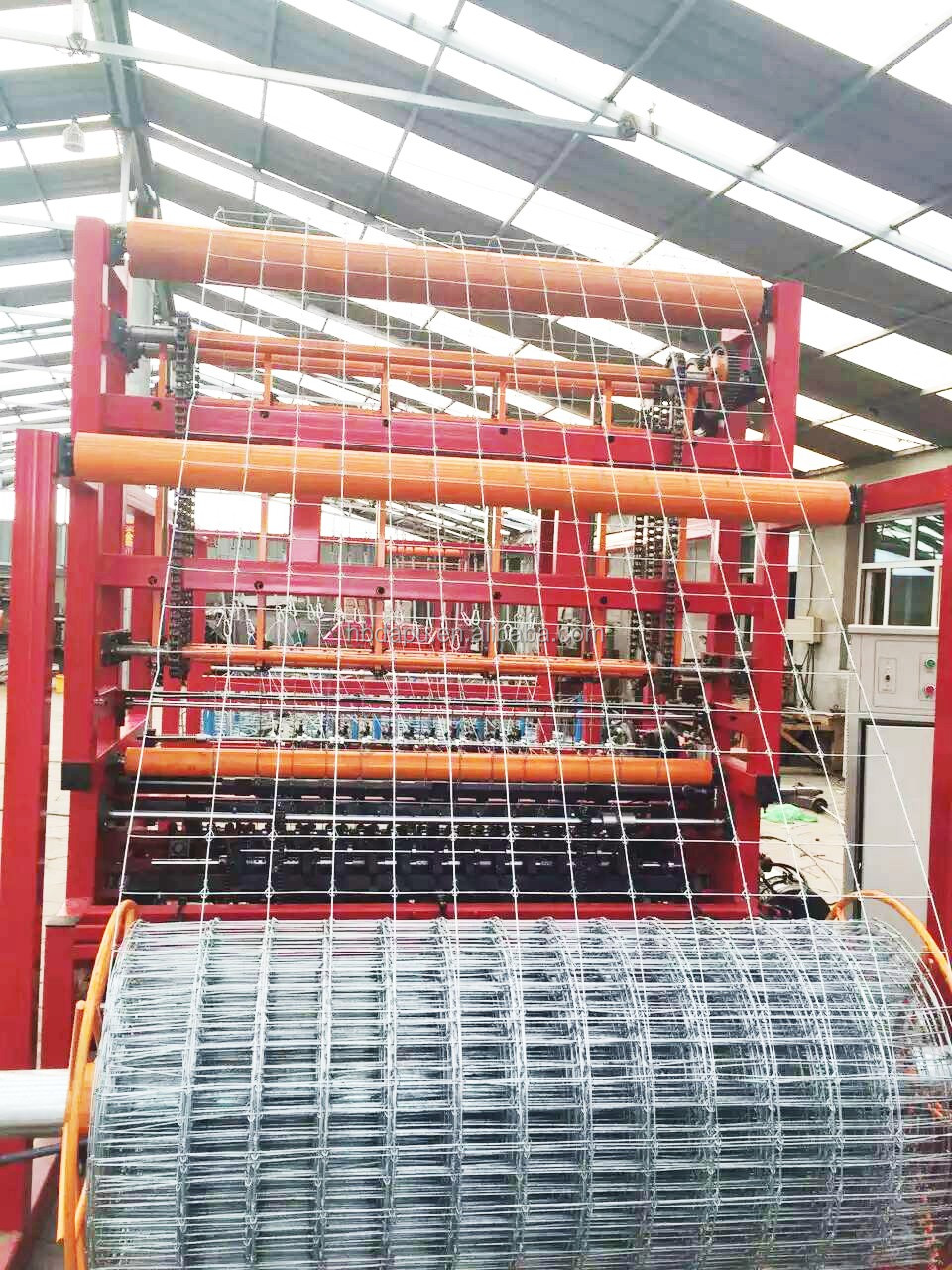 fixed knot field fence machine with high quality