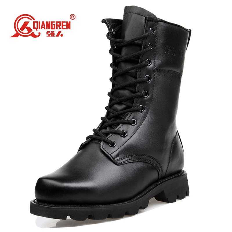 2016 Zipper Side indian army boots winter shoe for sale