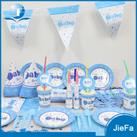 Professional Party Decoration Paper Cup/Paper Plate/Napkin Set Party Favours