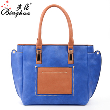 B-2703 2017 new model female fashion mexican leather systyle handbags