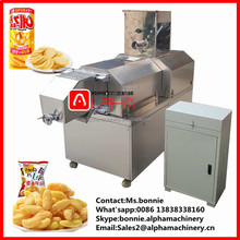 Business/home use small size low price corn rice stick extruder puff snack machine