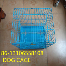 cheap price small two doors folding dog crate cage house ( skype:yolandaking666)