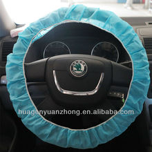 Clear Soft Plastic Disposable Steering Wheel Cover for Auto Car