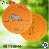 Hot sale absorbent hanging deodorizer car air freshener