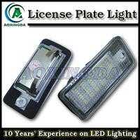 LED number license plate light for AUDI Q7 A3 A4 A6 A8