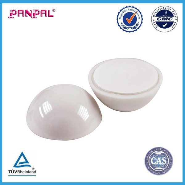 BSCI approved China factory Dome wall Soft Door Stop,Self-adhesive 2 pack