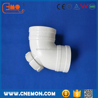 PVC fitting 90 elbow with inspection port made in China