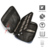 Double Layers Portable Camera Charger Cases Water Resistant Electronics Accessories Organizer (YCBU)