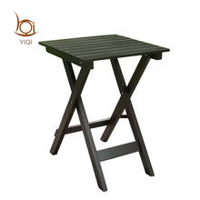 New Arrived Factory Price Solid Wood Folding Coffee Side Table