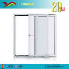 Frameless Tempered White Frosted Glass Folding Cabinet Interior Doors