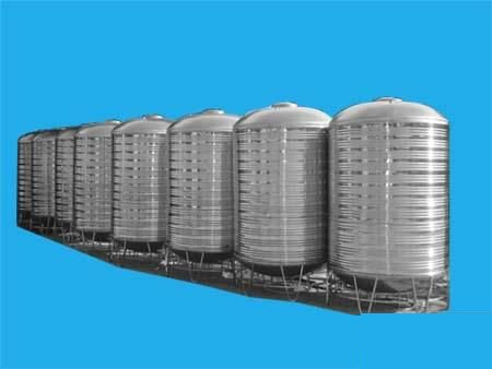 Cylindrical Stainless Steel Water Tank 1,000-10,000 liters