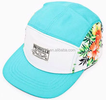 Cheap Flower 5 Panel Snapback Hats Hat Caps Cycle Rider Outdoor