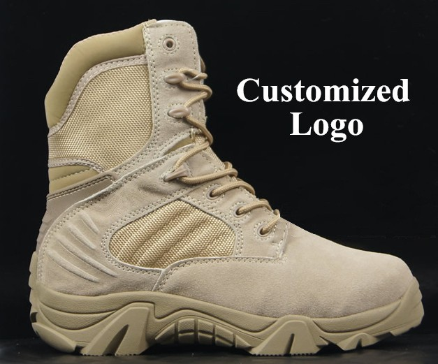 military outdoor tactical safety leather shoes military boots and army winter boots