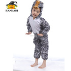 Factory Sell Cute Zebra Animal Costume for Kids