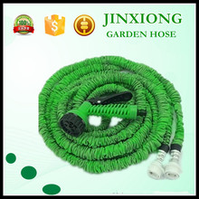 Euro normal type plastic flexible water hose white magic hose roll flat garden hose