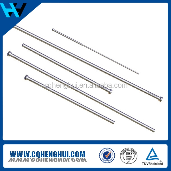 H13 SKD61 Die Steel and Cemented Carbide insert molding pins for injection mold